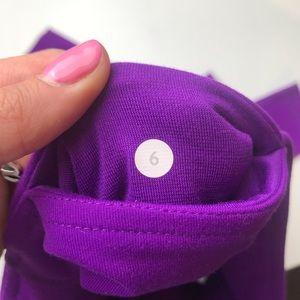 """lululemon athletica Pants - Lululemon 28"""" Purple Leggings Size 6"""